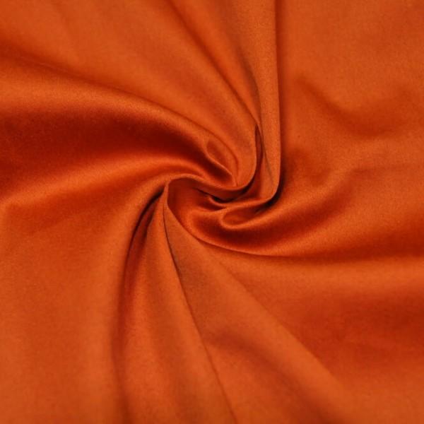 Ткань костюмная Хлопок сатин (оранжевый) купить оптом в Беларуси