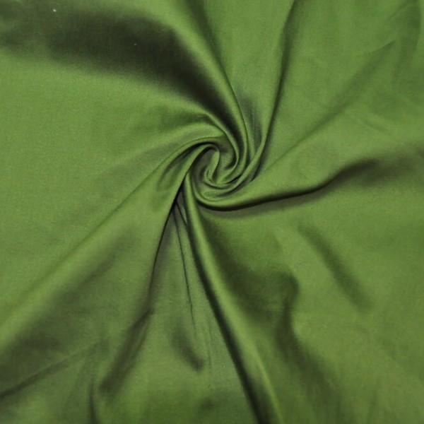 Ткань костюмная Хлопок сатин (зеленый) купить оптом в Беларуси