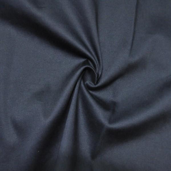 Ткань костюмная Хлопок сатин (темно-синий) купить оптом в Беларуси