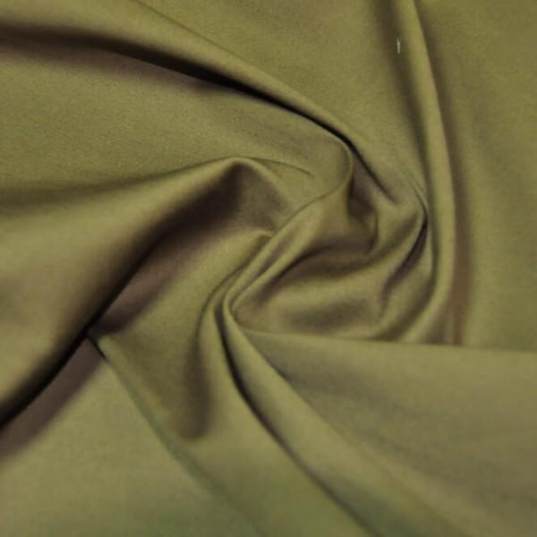 Ткань костюмная Хлопок сатин (хаки) купить оптом в Беларуси