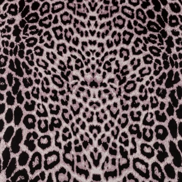 Ткань плательно-блузочная   Атлас леопард купить оптом в Беларуси