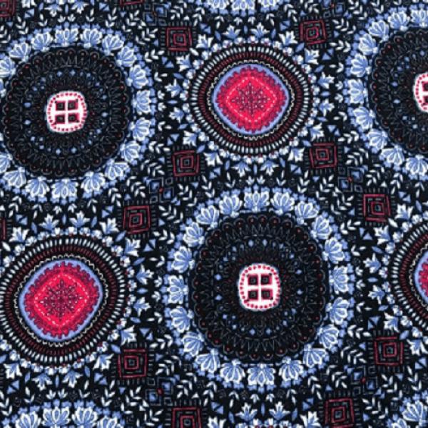 Ткань плательно-блузочная   Штапель принт купить оптом в Беларуси