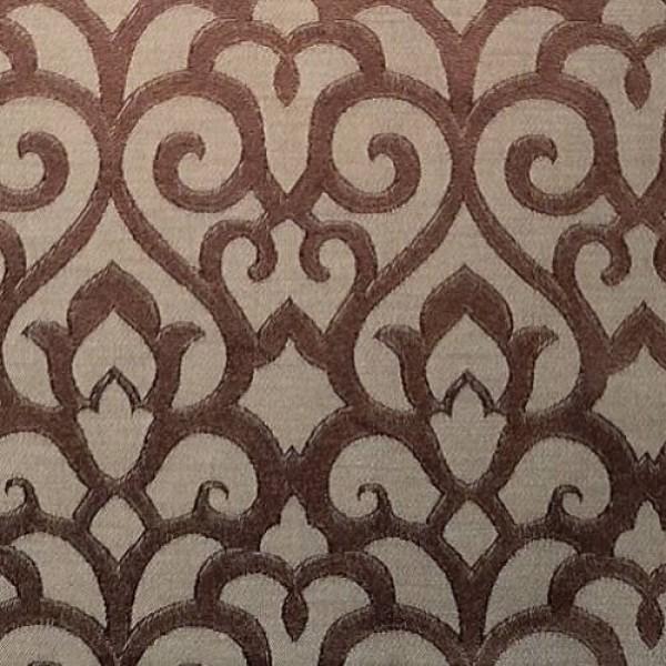 Ткань Жаккард (коричневый) купить оптом в Беларуси
