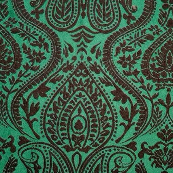 Ткань Жаккард (зеленый) купить оптом в Беларуси