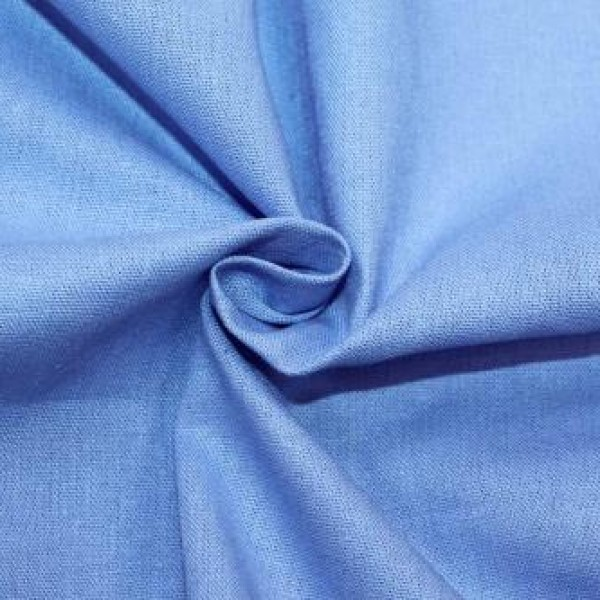 Ткань  Лен 2 (голубой) купить оптом в Беларуси