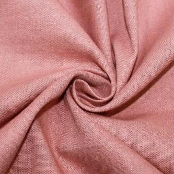 Ткань  Лен 2 (серо-розовый) купить оптом в Беларуси