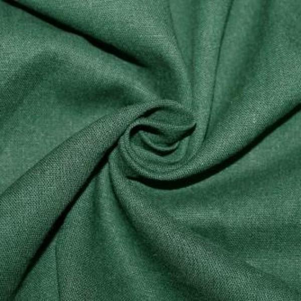 Ткань  Лен 2 (зеленый) купить оптом в Беларуси