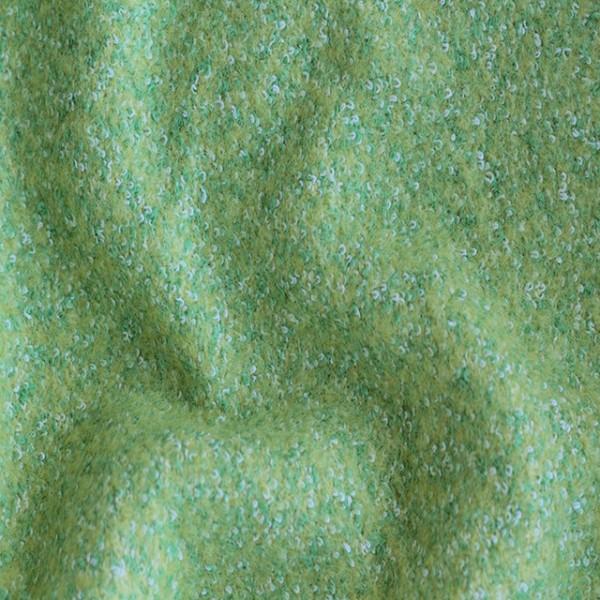 Ткань  Пальтовая Букле (светло-зеленый) купить оптом в Беларуси