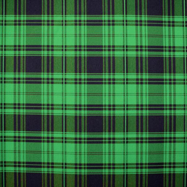 Ткань костюмная  Пикачо клетка (зеленый) купить оптом в Беларуси
