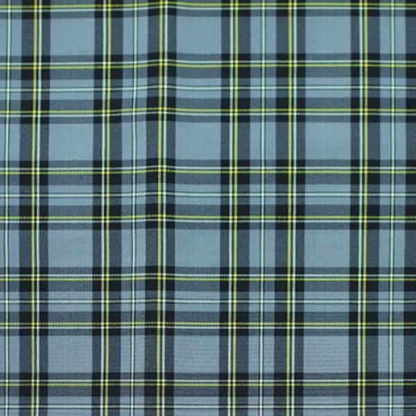 Ткань костюмная  Пикачо клетка (голубой) купить оптом в Беларуси