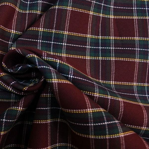 Ткань костюмная  Шотландка 1019-103 купить оптом в Беларуси